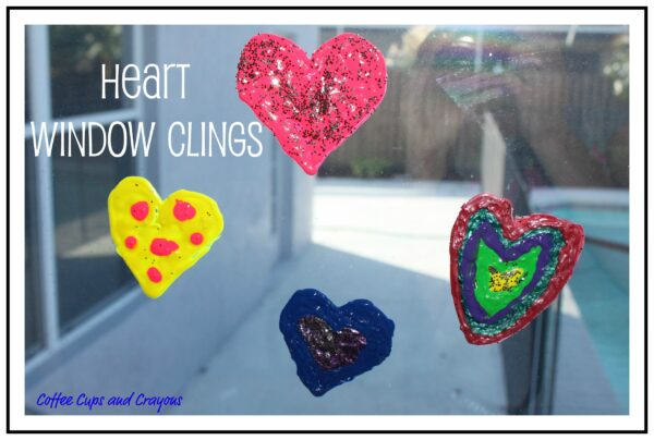 Make Your Own Heart Window Clings