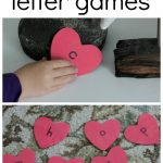 Letter Matching with Hearts