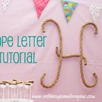 How to Make Your Own Rope Letters