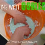 Playing with Oobleck!
