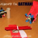 Paper Bag Playground (for Batman!)