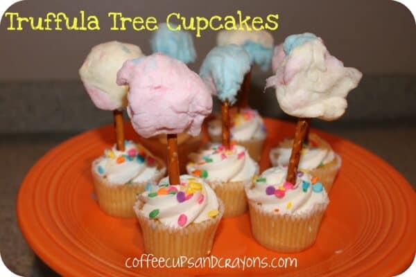 Truffula Tree Cupcake Dessert from The Lorax!