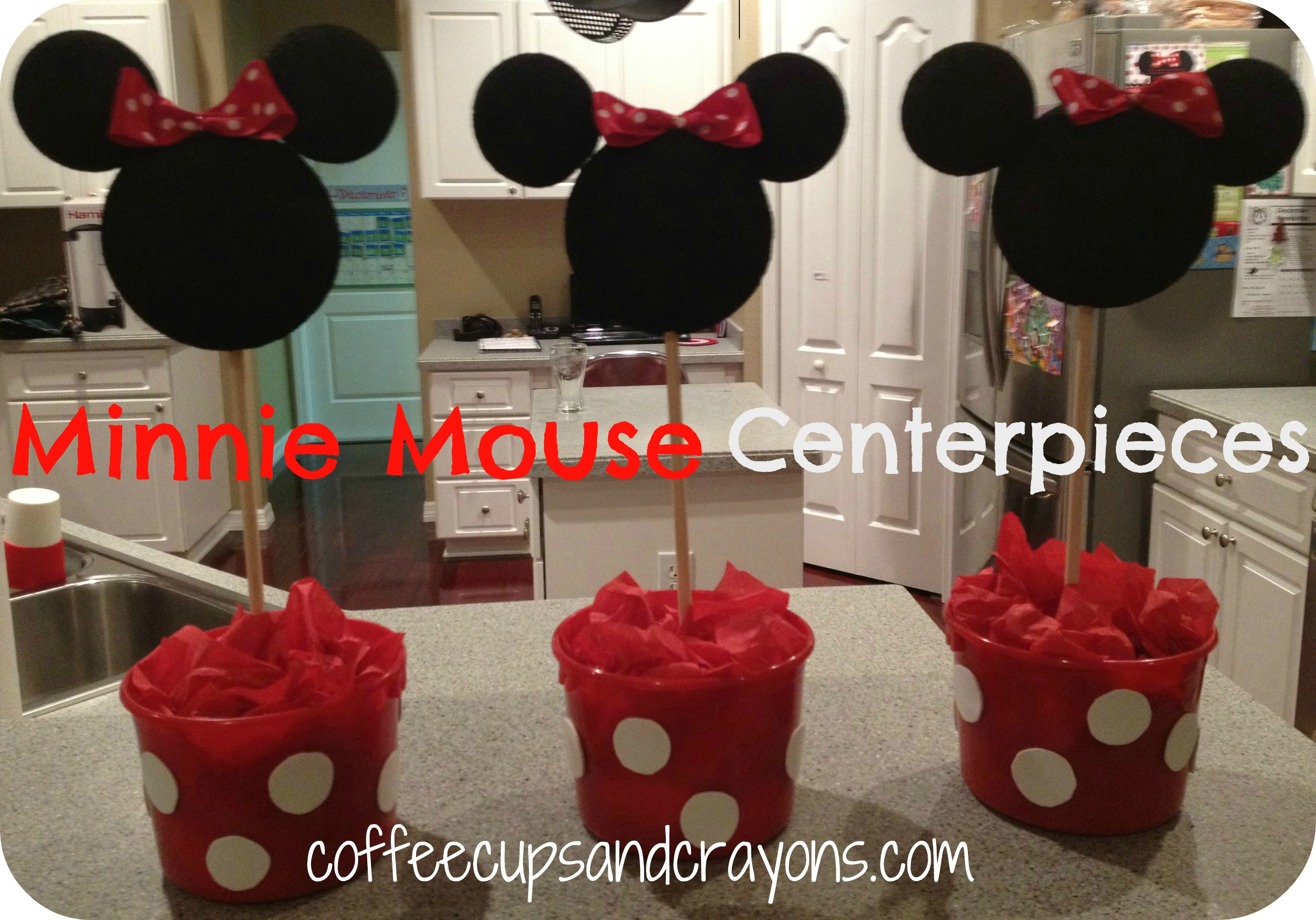 Mickey and Minnie Food and Dessert Ideas! - Coffee Cups and Crayons