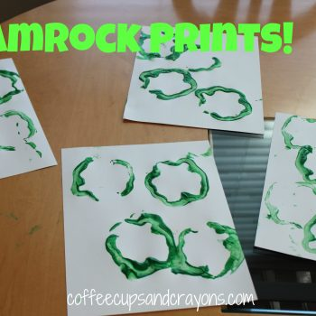 Make Shamrocks Prints with Peppers