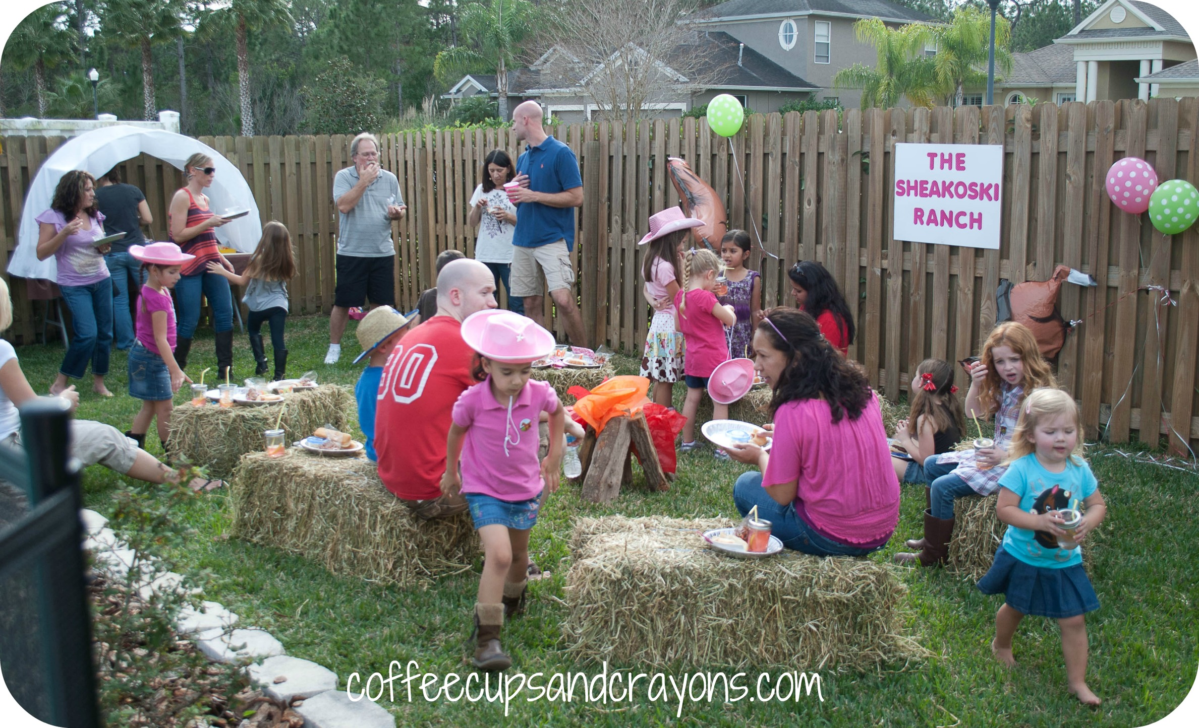 Backyard Western Party Ideas : Cowgirl Birthday Party Ideas!