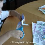 Easter Egg Garland and Collages — Great Scissor Practice!