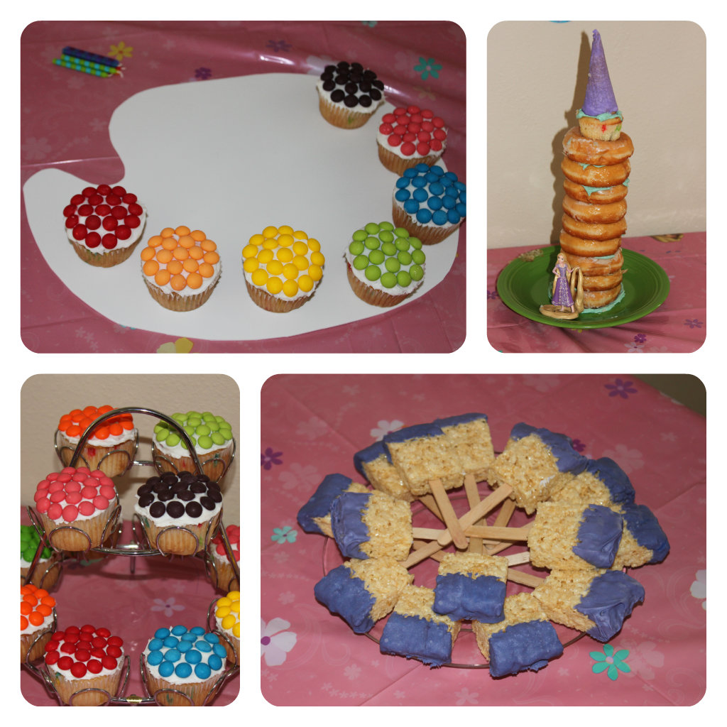 Sand Art Cake Mix : Tangled Art Birthday Party! Coffee Cups and Crayons