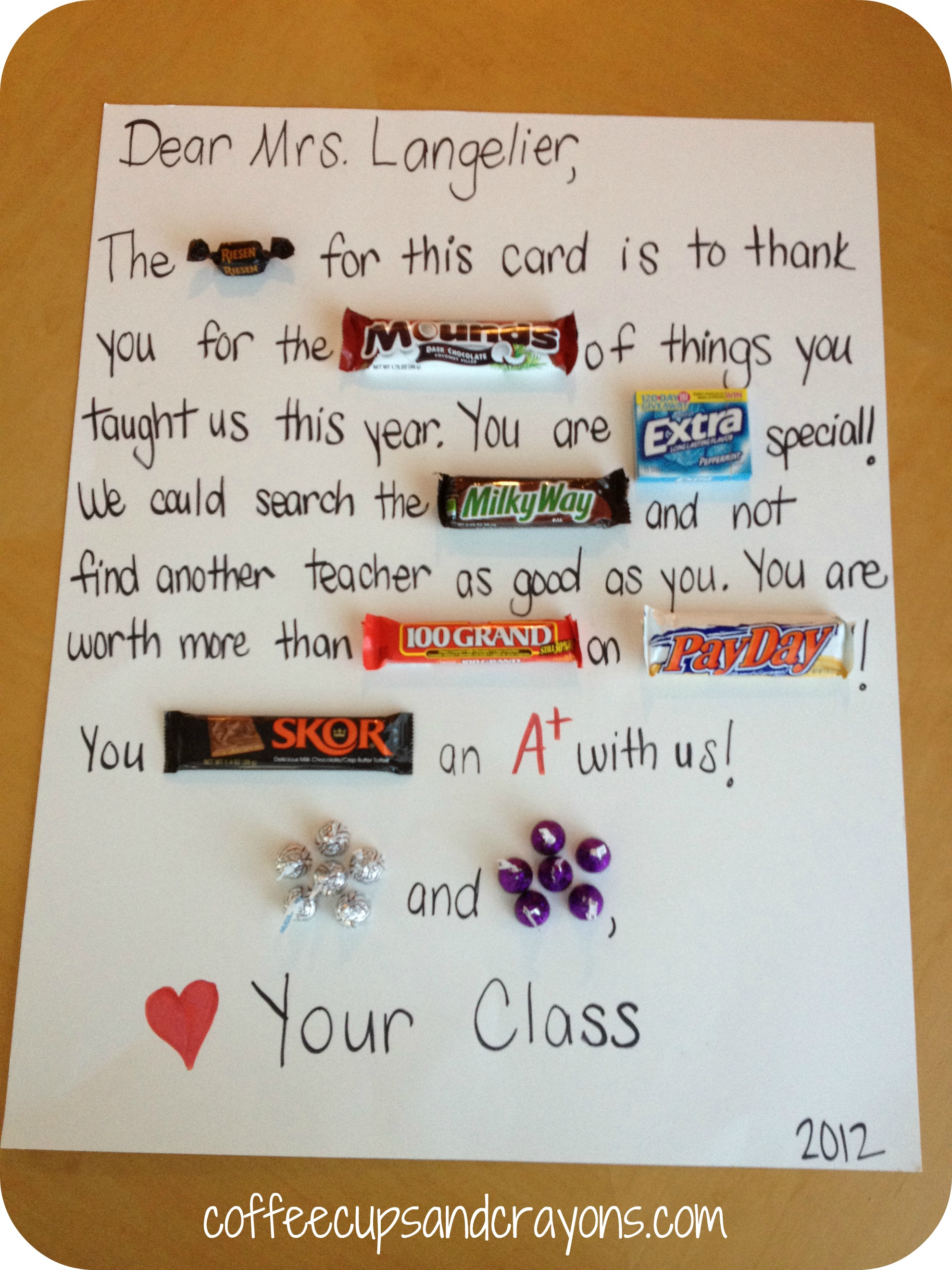 Happy Teacher Appreciation Week! | Coffee Cups and Crayons