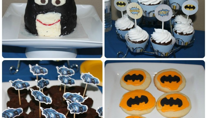 Batman Party Dessert Table