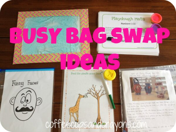 Fun Ideas for a Busy Bag Swap!