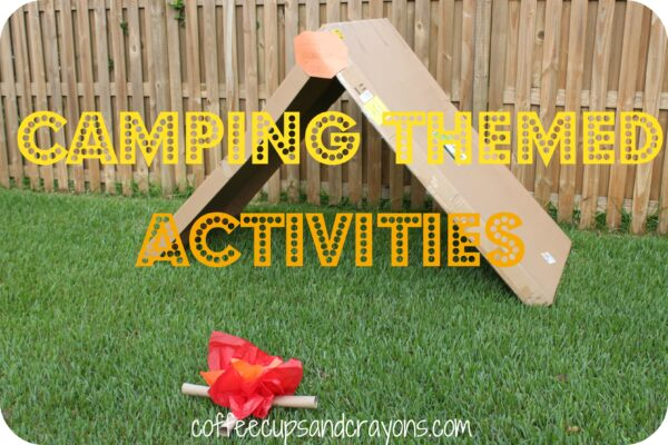 Camping Themed Activities for Kids