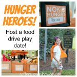 Hunger Heroes: A Food Drive Play Date