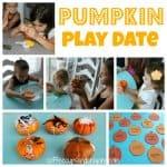 Pumpkin Themed Play Date and a Blog Hop