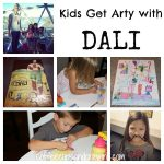 Kids Art Activity: Discovering Dali
