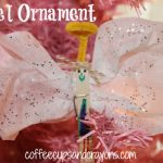 Christmas Kids Craft: Angel Ornament and Picture Book