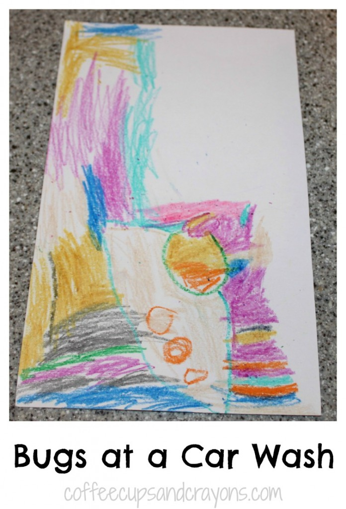 Preschool Art Project: Draw like Dali