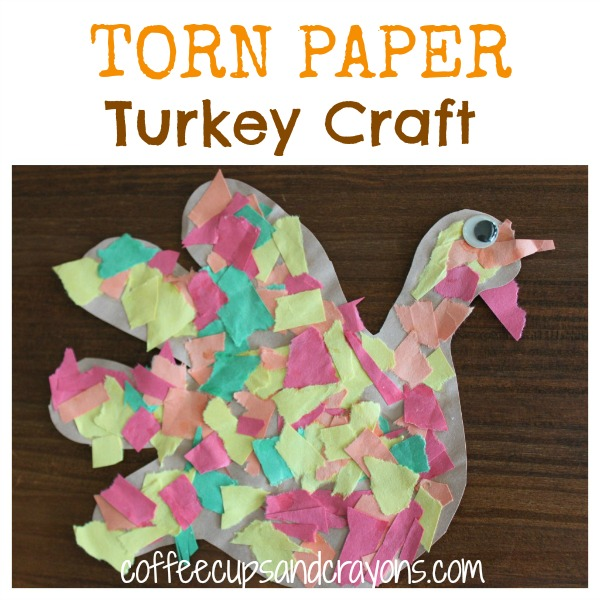 Turkey Craft Projects Preschool