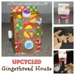 Fun Kids Craft: Upcycled Gingerbread House