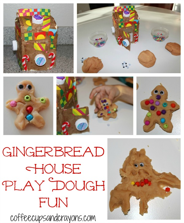 Play Dough Gingerbread Friends Kids Activity