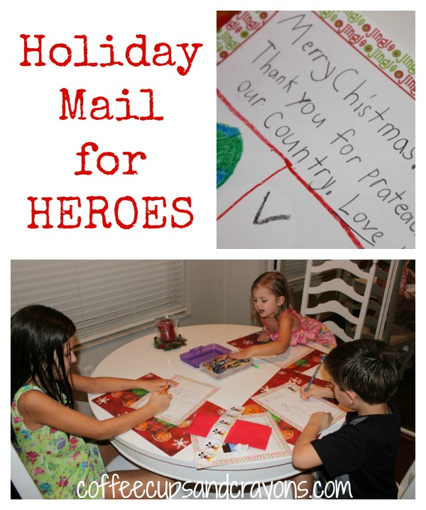 Act of Kindness for Kids: Send a Card to a Service Member