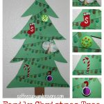 Christmas Craft for Kids: Family Tree with Mini-Ornaments