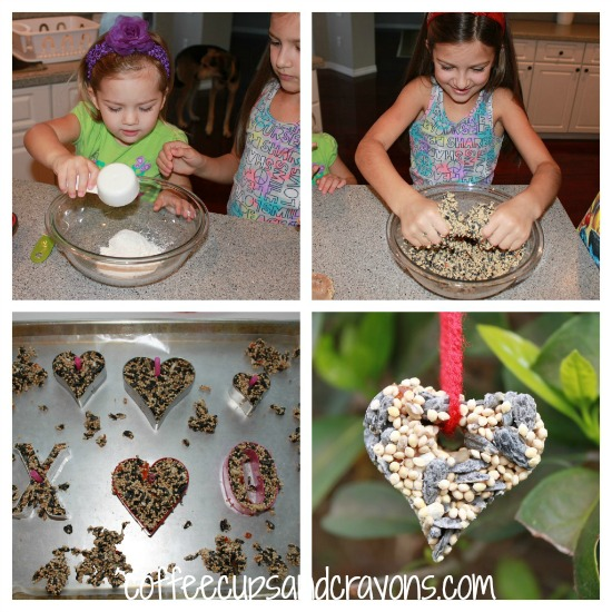 How to Make Bird Seed Ornament Bird Feeders