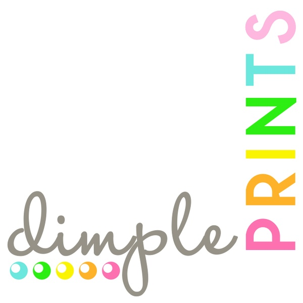 Dimple Prints party printable and inspiration