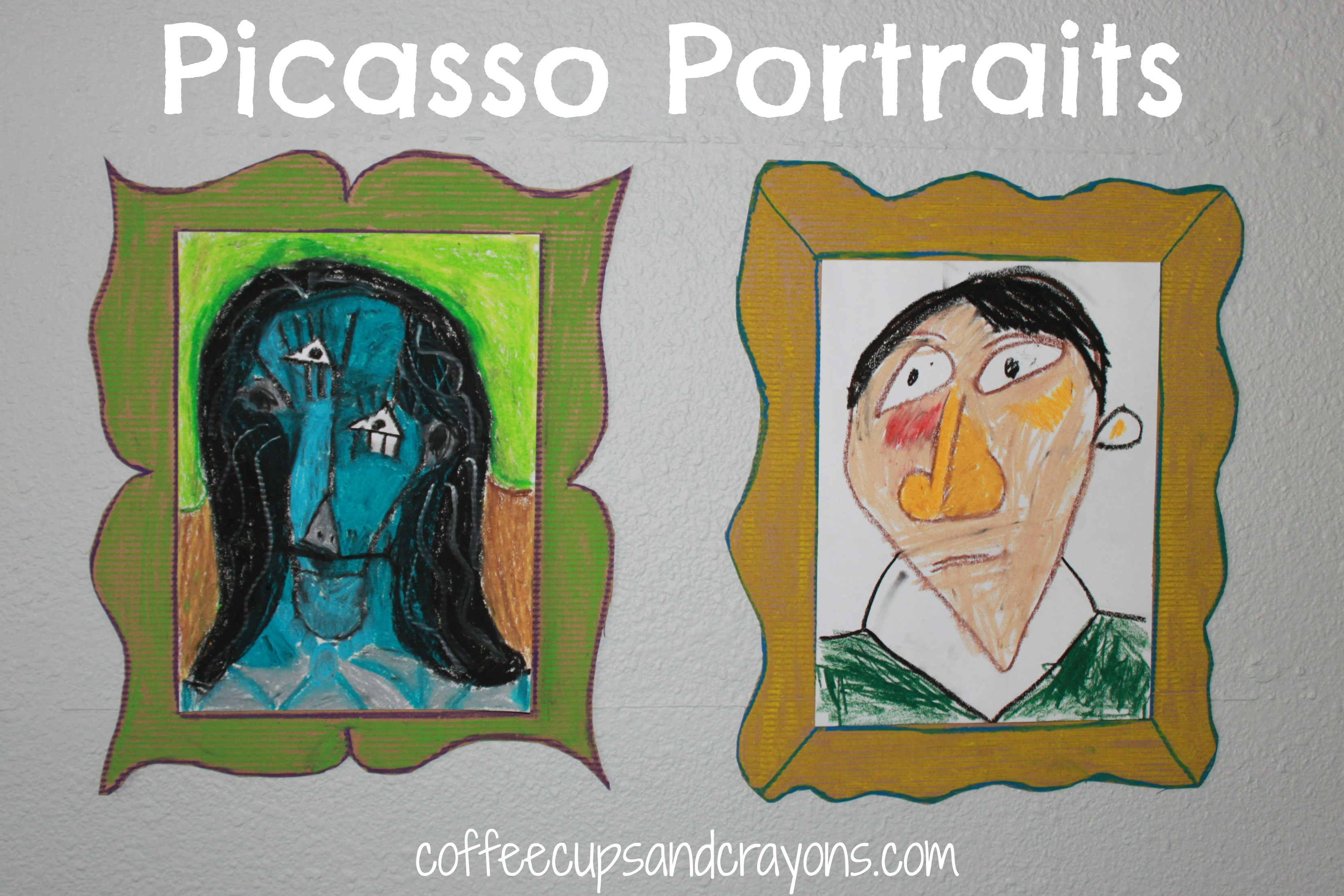 Art Projects for Kids: Picasso Portraits