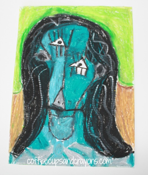 Art Projects for Kids: Picasso Portrait Drawing