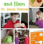 Green Eggs and Ham Dr. Seuss Activities