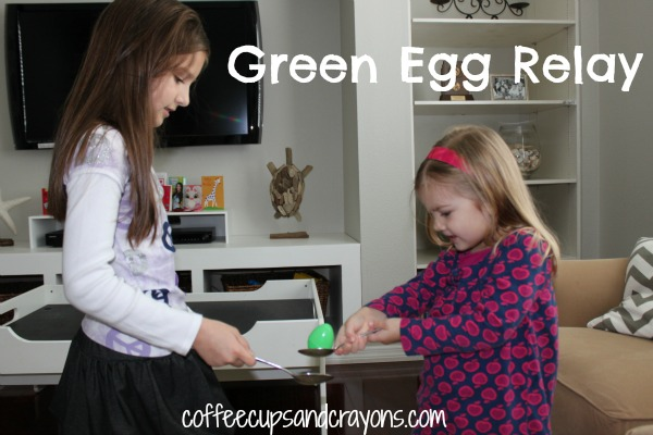 Green Eggs and Ham Relay Game