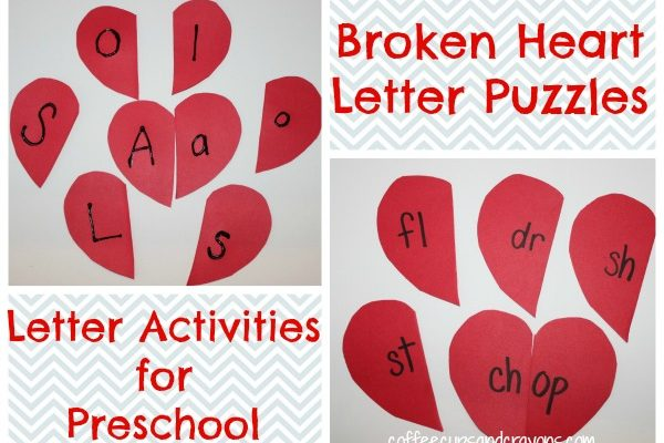 letter activities for preschool