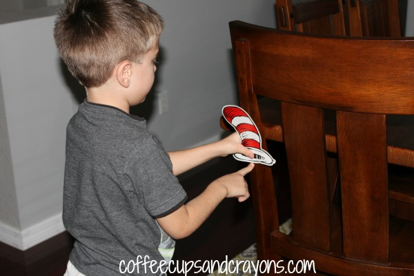 Cat in the Hat Measurement Activity
