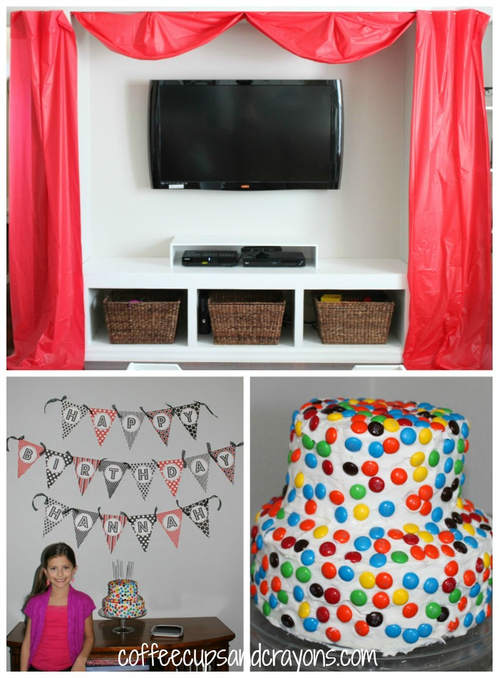 Homemade Movie Theater