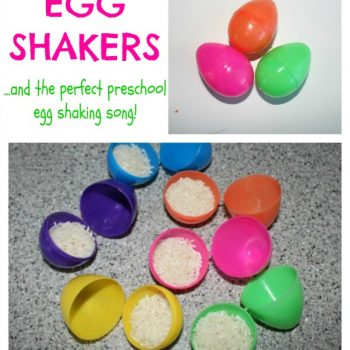 Egg Shakers and Song for Preschoolers