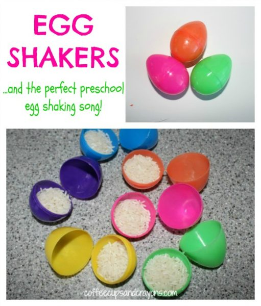 How to make egg shakers