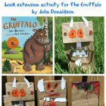 Gruffalo Puppet Kids Book Activity