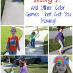 Rainbow Outdoor Games for Preschool
