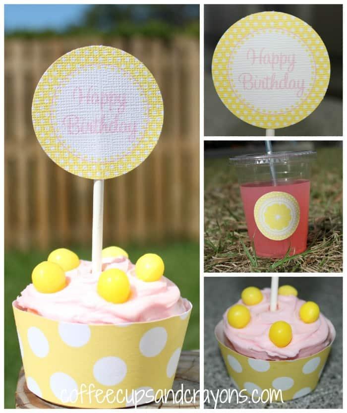 Pink Lemonade Birthday Party for Girls.