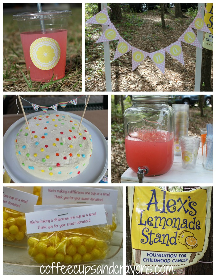Pink Lemonade Stand themed Girls Birthday Party