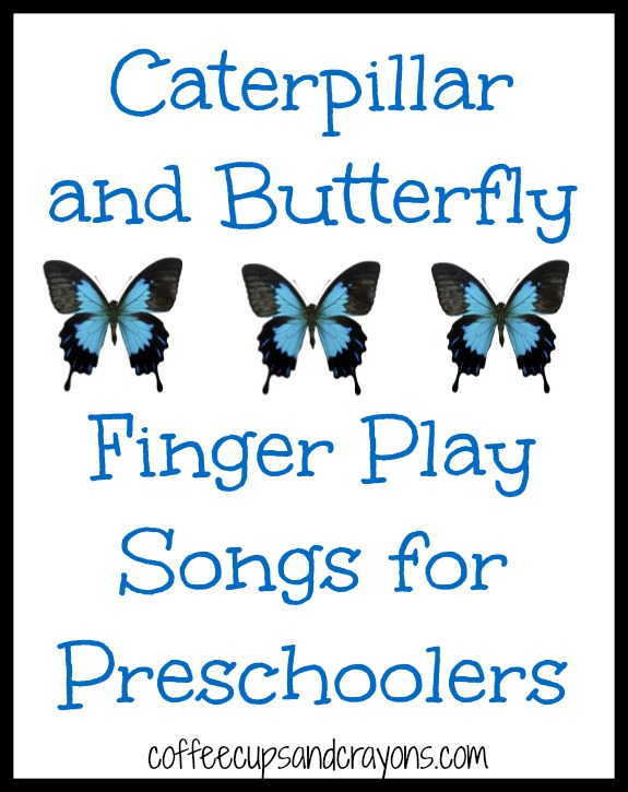 Caterpillar and Butterfly Songs for Preschool