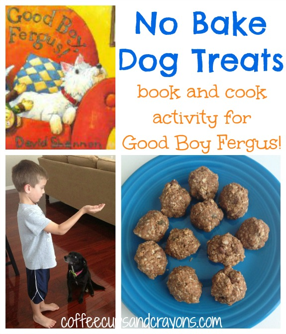 Homemade Dog Treats: Good Boy Fergus! Book and Cook Activity