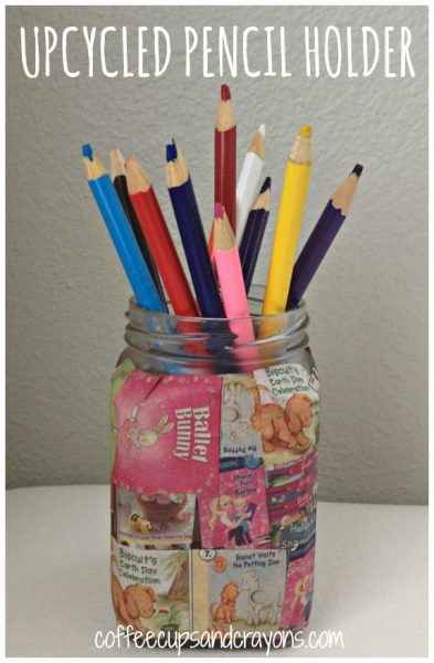 Upcycled Pencil Holder Craft