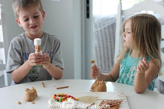 Homemade Peanut Butter Play Dough