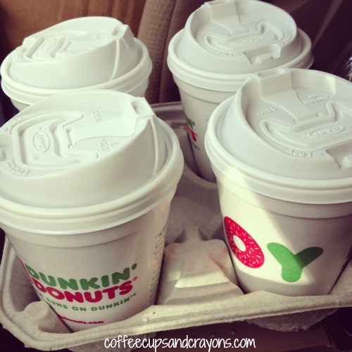 Kindness Act: Hand out coffee
