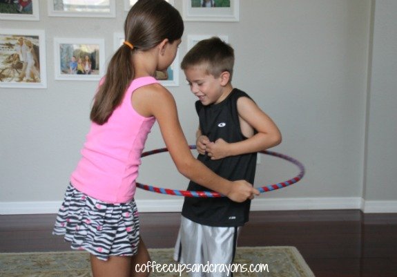 How to Hula Hoop Kids Activity