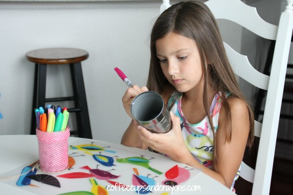 Crafts for Kids: Tin Can Lanterns!
