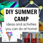 Summer Camp at Home Activities