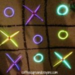 Glow in the Dark Tic Tac Toe!