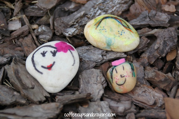Rock People and Pets Kids Craft